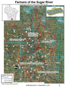 green county watershed groups 2020map